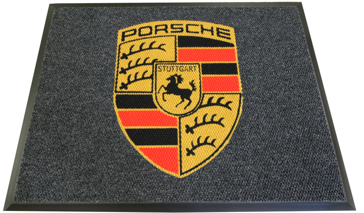 luxury automobile logo mat Piazza